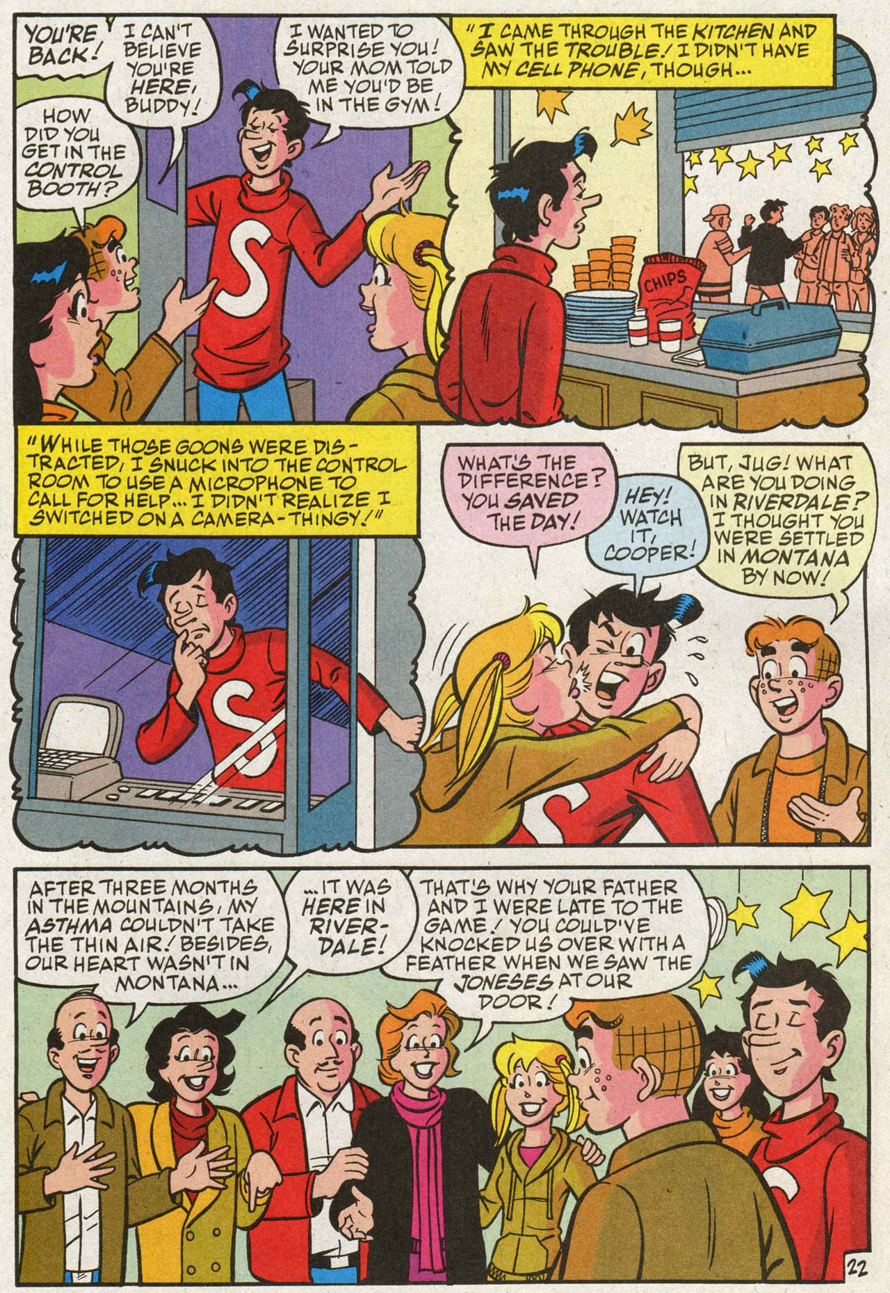 Read online Archie (1960) comic -  Issue #588 - 23