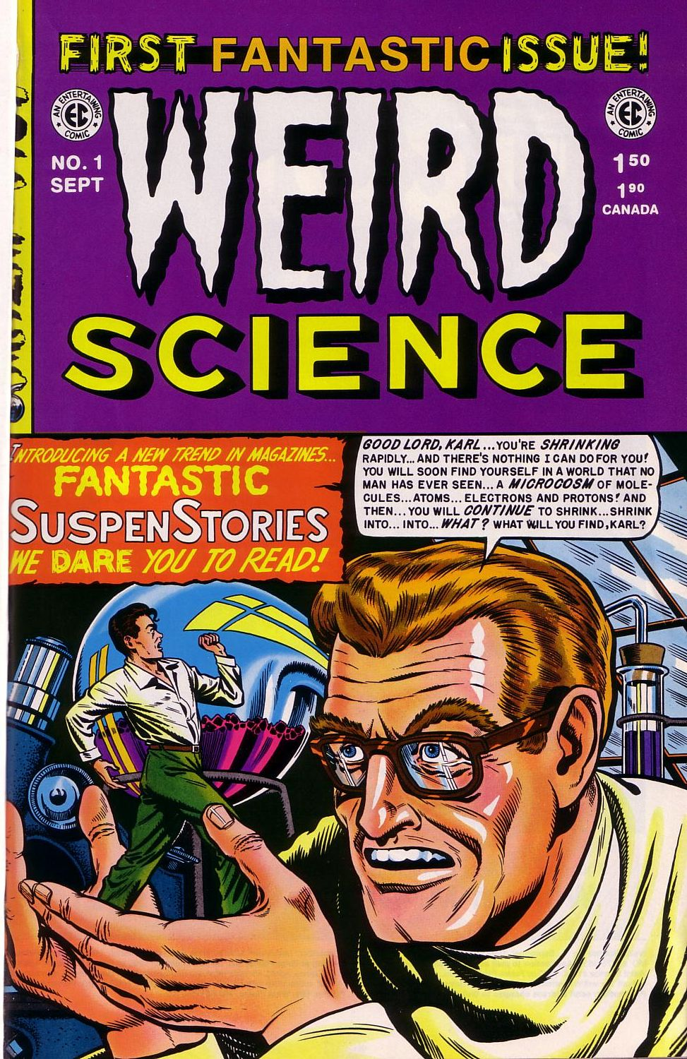 Weird Science issue 1 - Page 1
