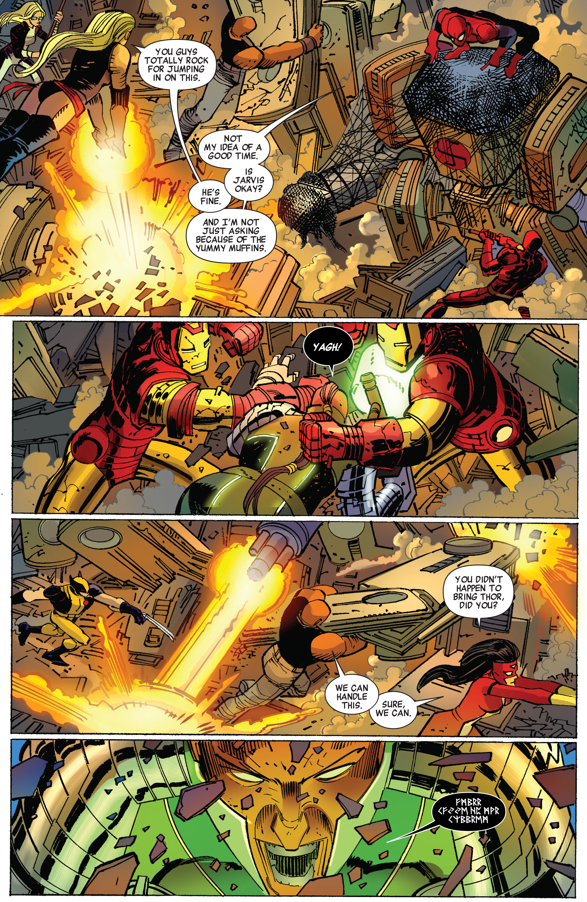 Read online Avengers (2010) comic -  Issue #17 - 15