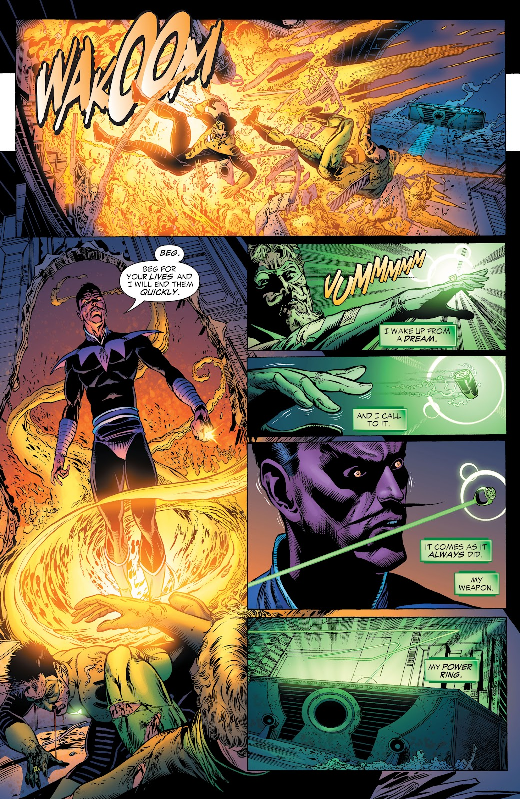 Read online Green Lantern by Geoff Johns comic -  Issue # TPB 1 (Part 2) - 9