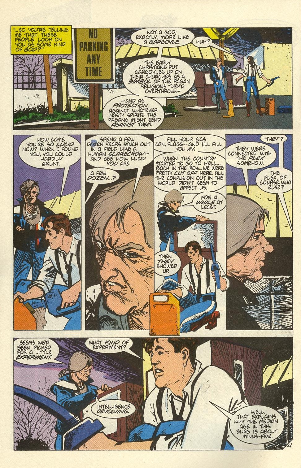 Read online American Flagg! comic -  Issue #41 - 6