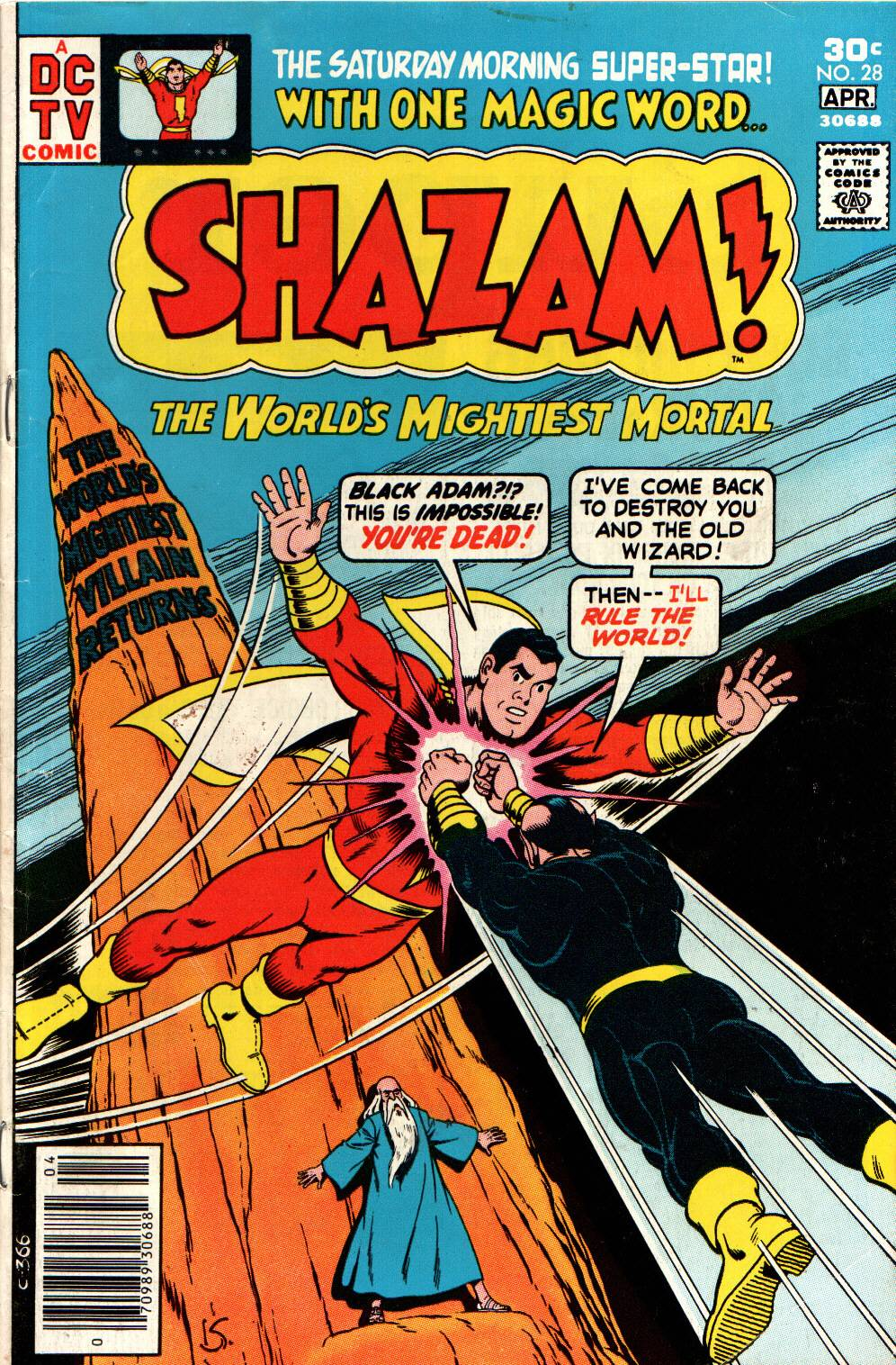 Read online Shazam! (1973) comic -  Issue #28 - 1