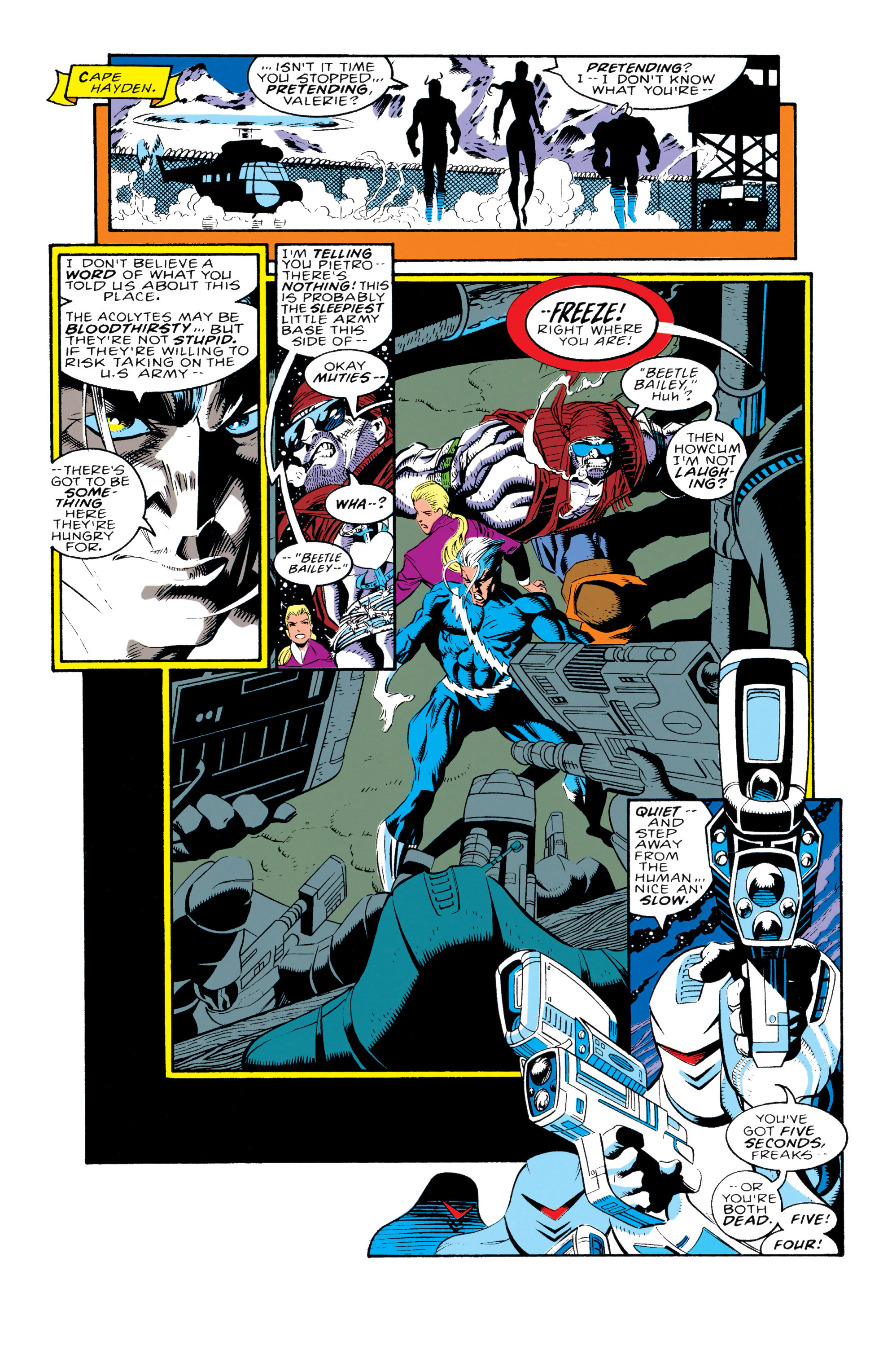 Read online X-Factor (1986) comic -  Issue #92 - 16