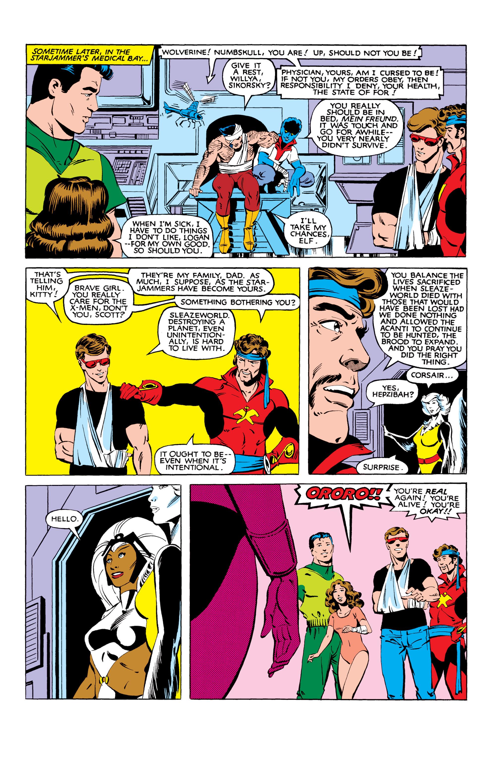 Read online Uncanny X-Men (1963) comic -  Issue #166 - 38