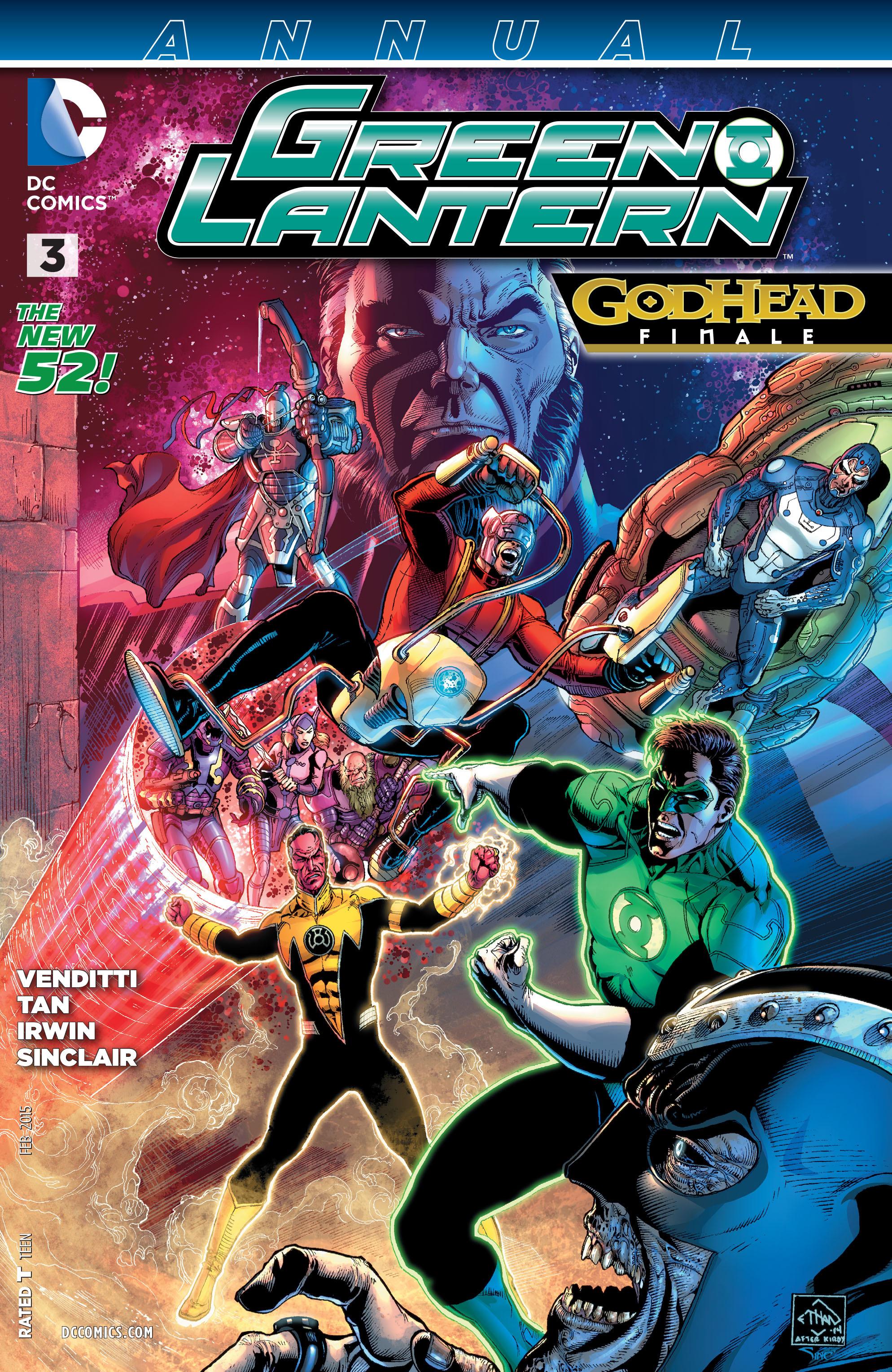 Green Lantern/New Gods: Godhead 17 Page 1