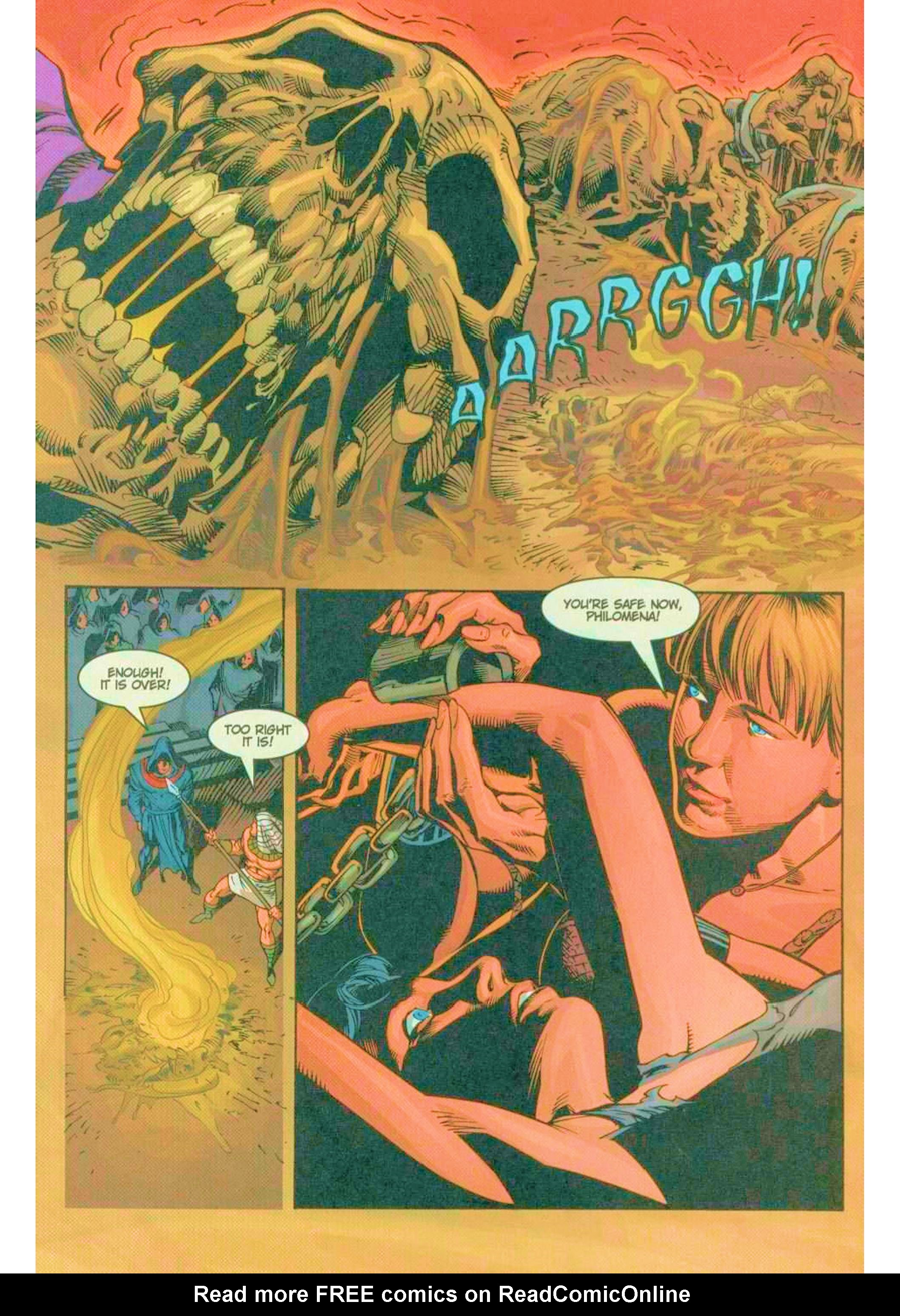 Read online Xena: Warrior Princess (1999) comic -  Issue #6 - 21