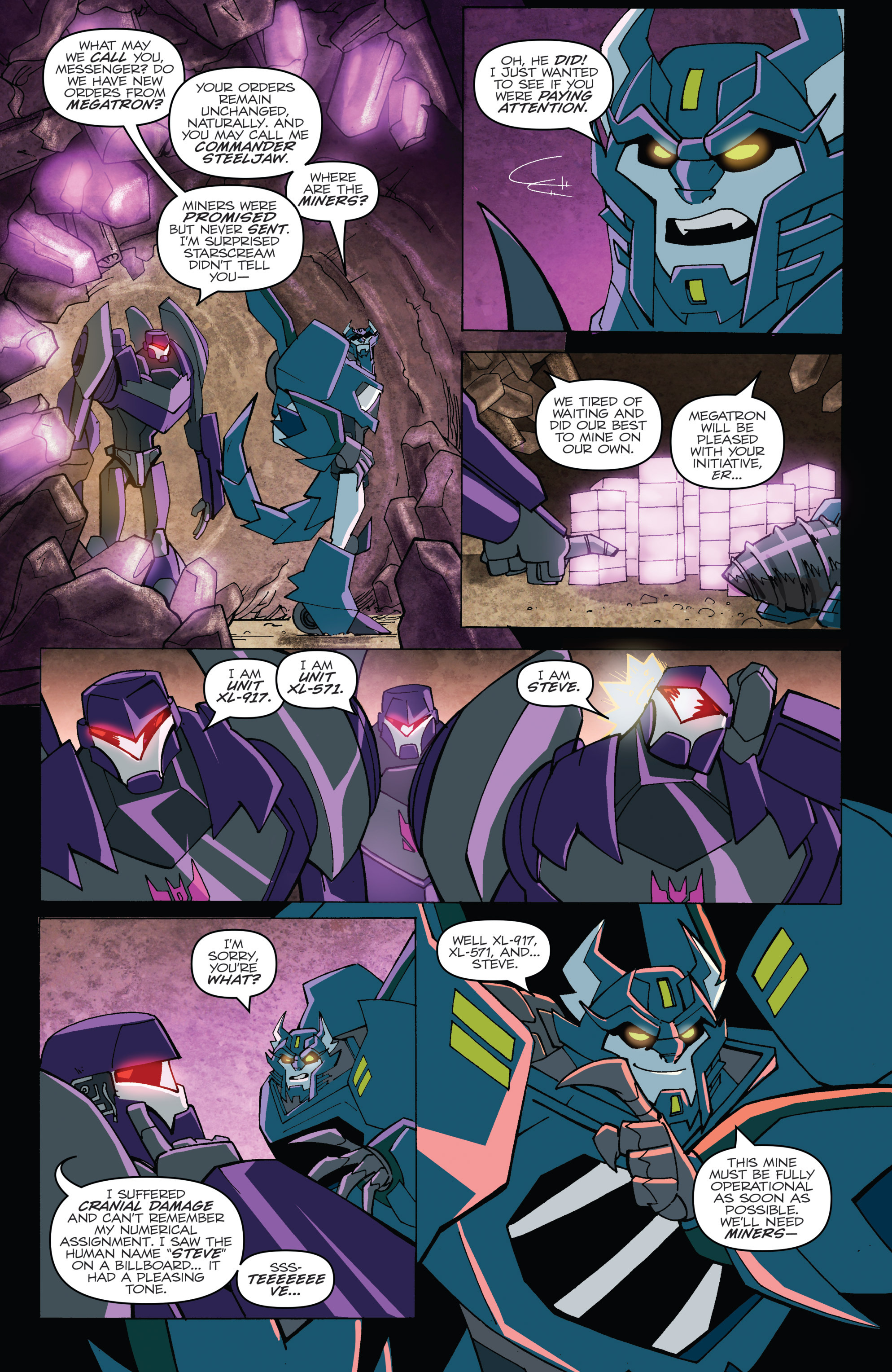 Read online Transformers: Robots In Disguise (2015) comic -  Issue #5 - 12