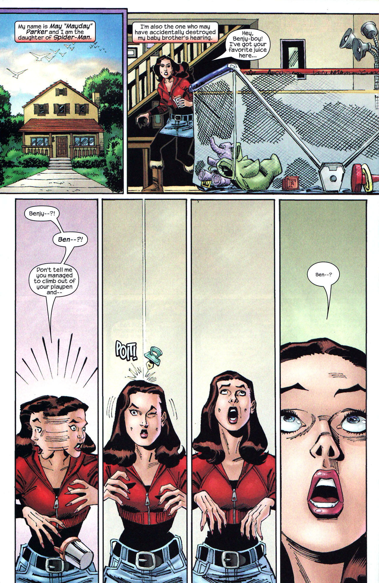 Read online Amazing Spider-Girl comic -  Issue #14 - 5