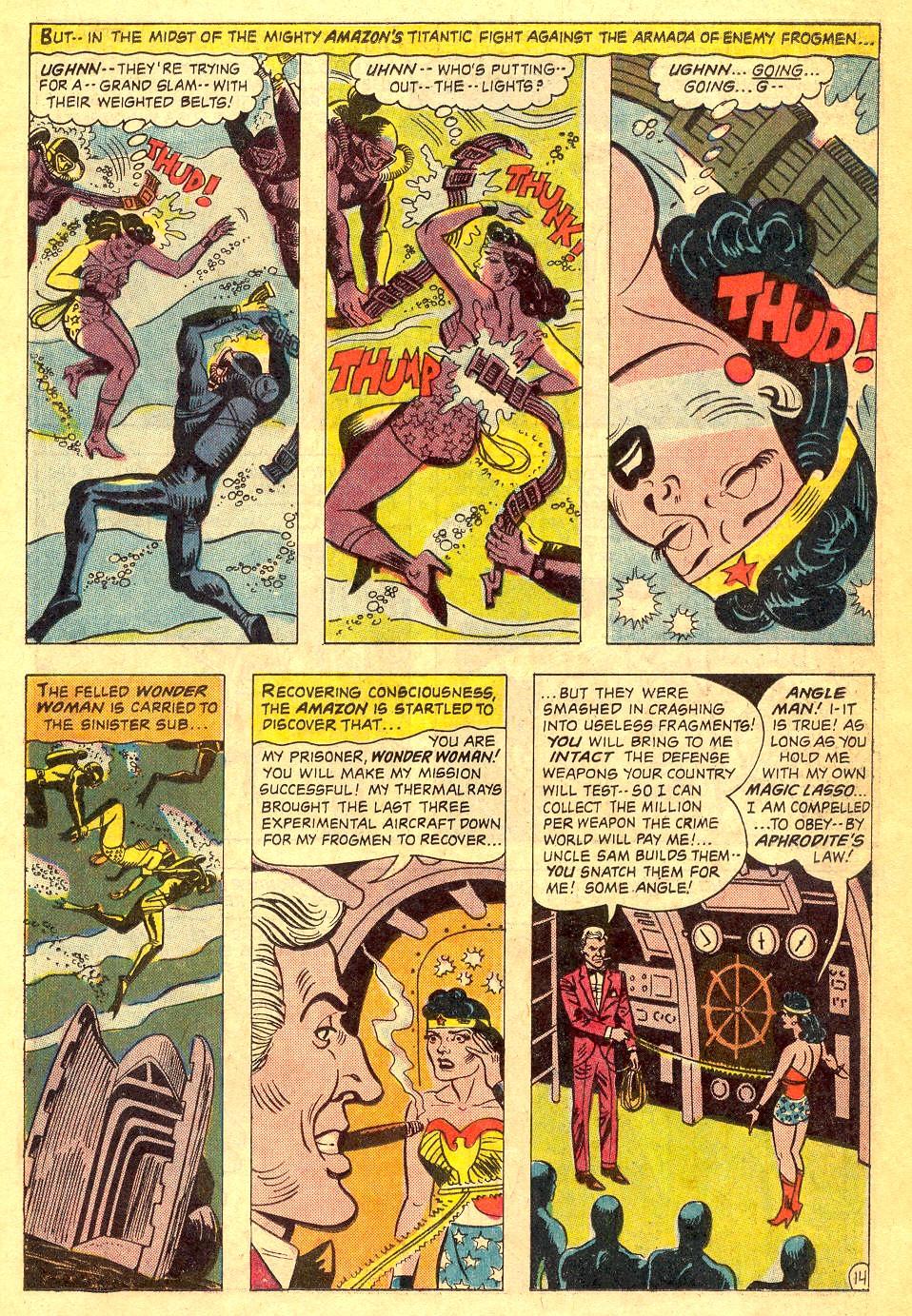 Read online Wonder Woman (1942) comic -  Issue #164 - 19