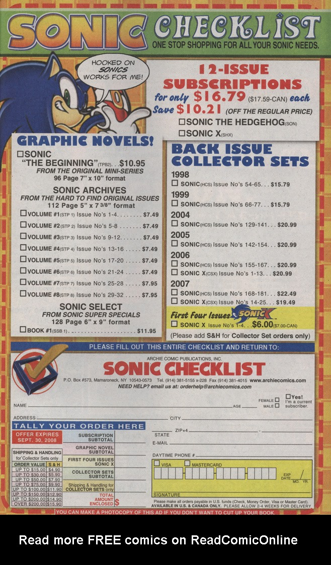Read online Sonic X comic -  Issue #36 - 33