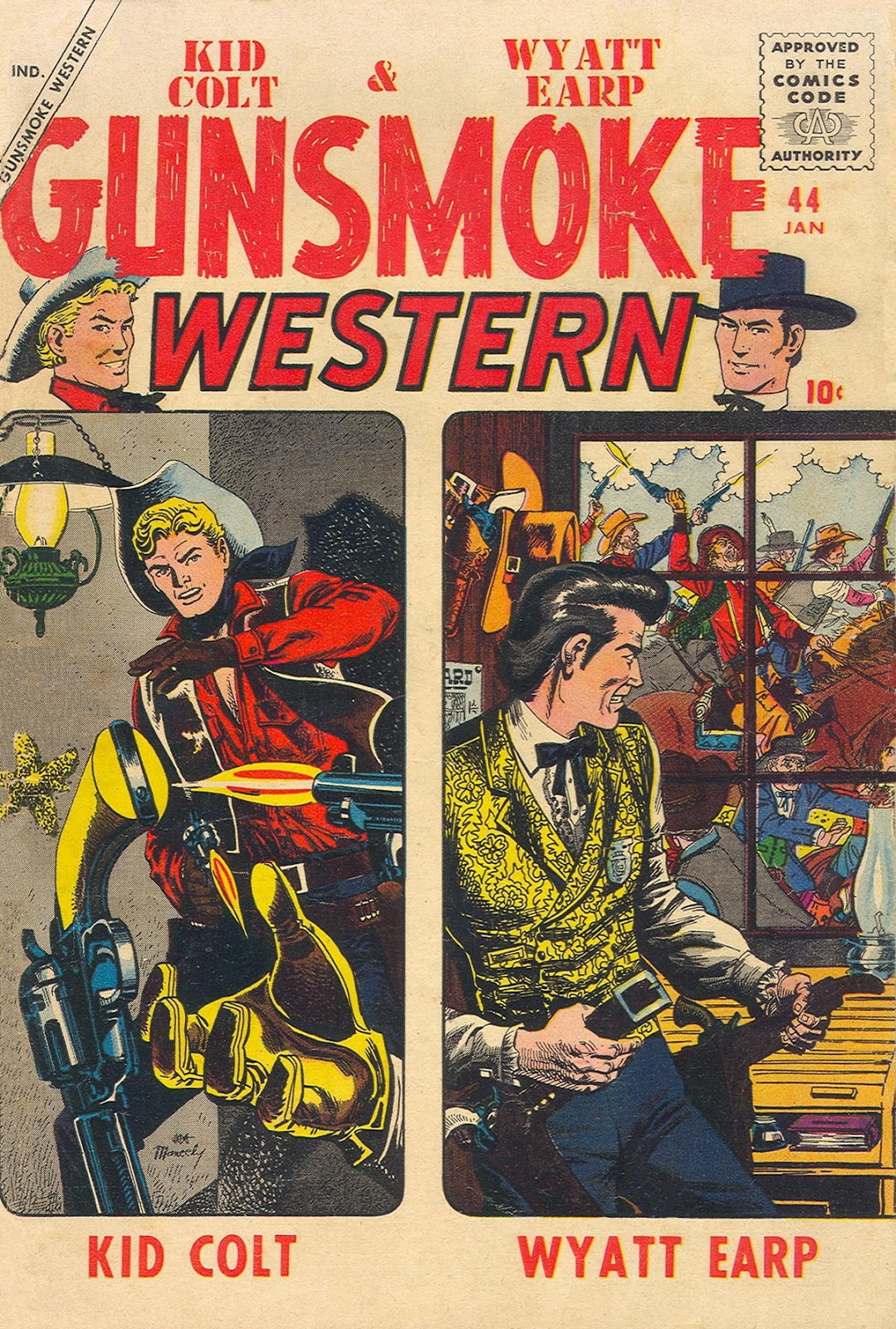 Gunsmoke Western issue 44 - Page 1