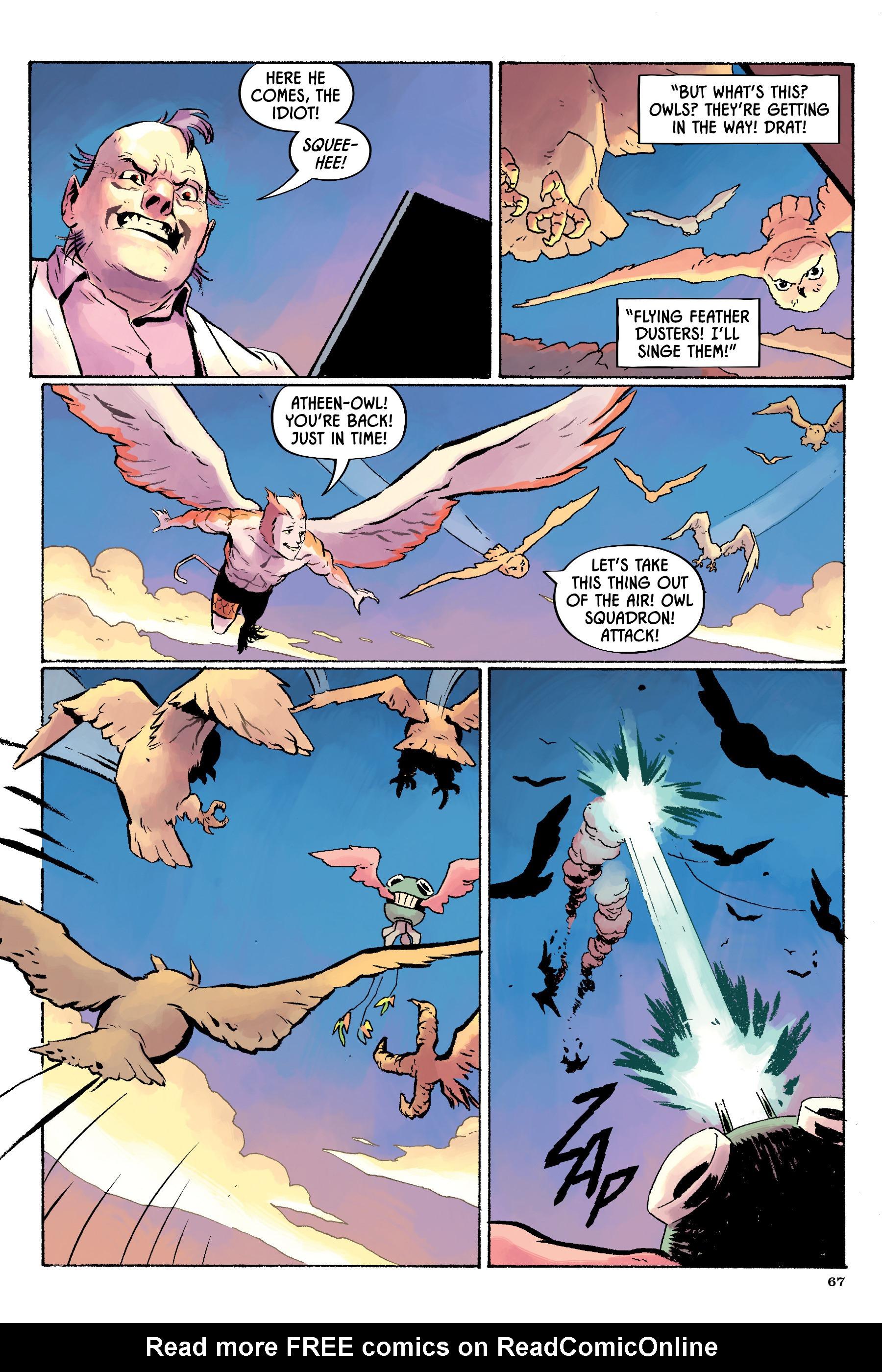 Read online Angel Catbird comic -  Issue # TPB 2 - 68