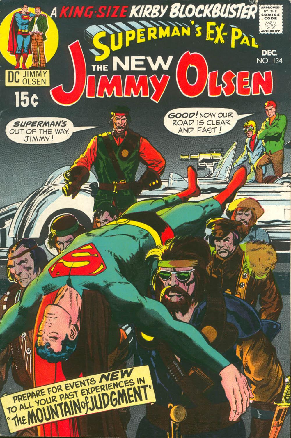 Supermans Pal Jimmy Olsen (1954) 134 Page 1