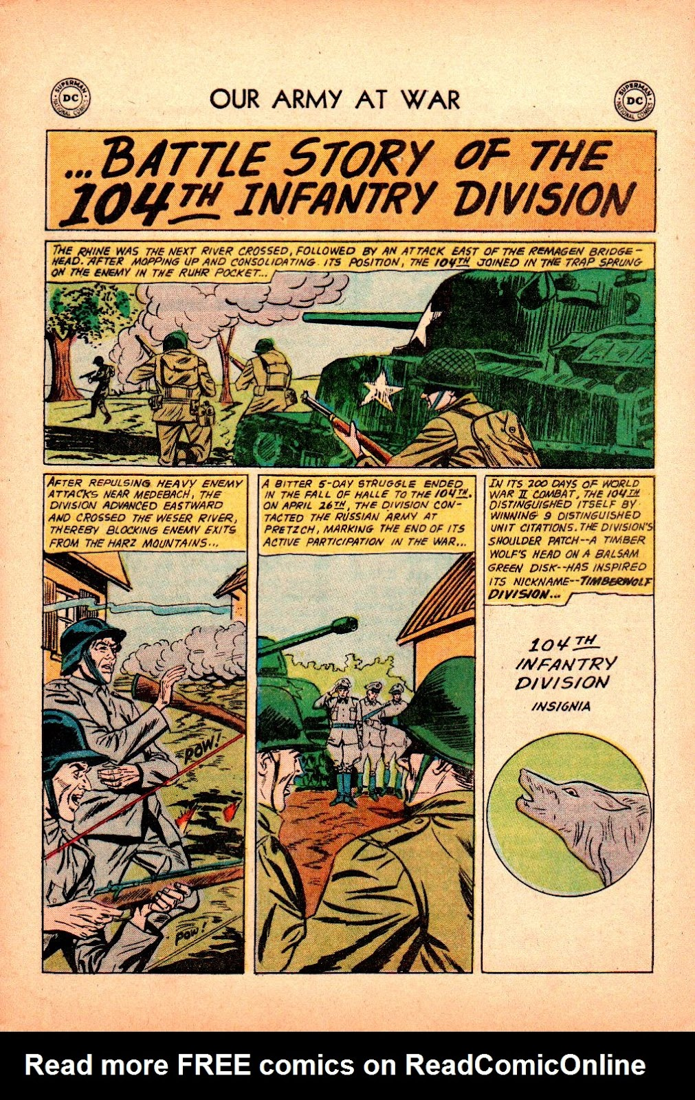 Our Army at War (1952) issue 101 - Page 21