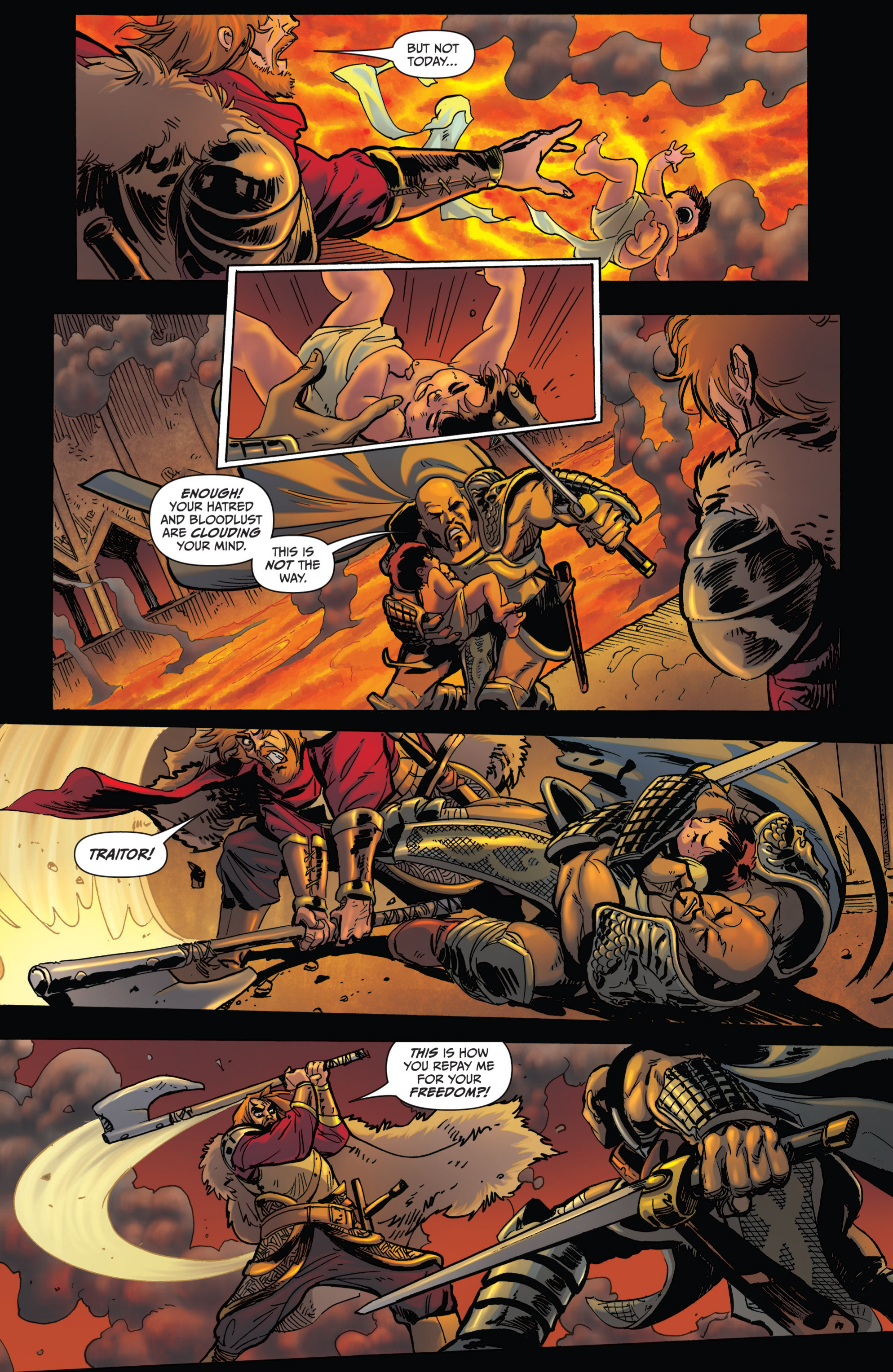 Read online Grimm Fairy Tales presents Grimm Universe comic -  Issue # TPB - 155