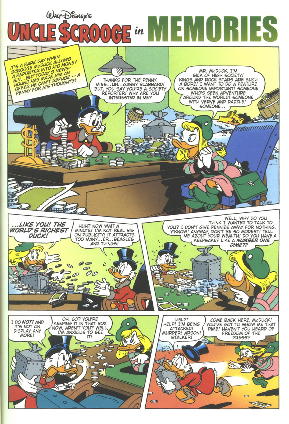 Read online Uncle Scrooge (1953) comic -  Issue #317 - 5