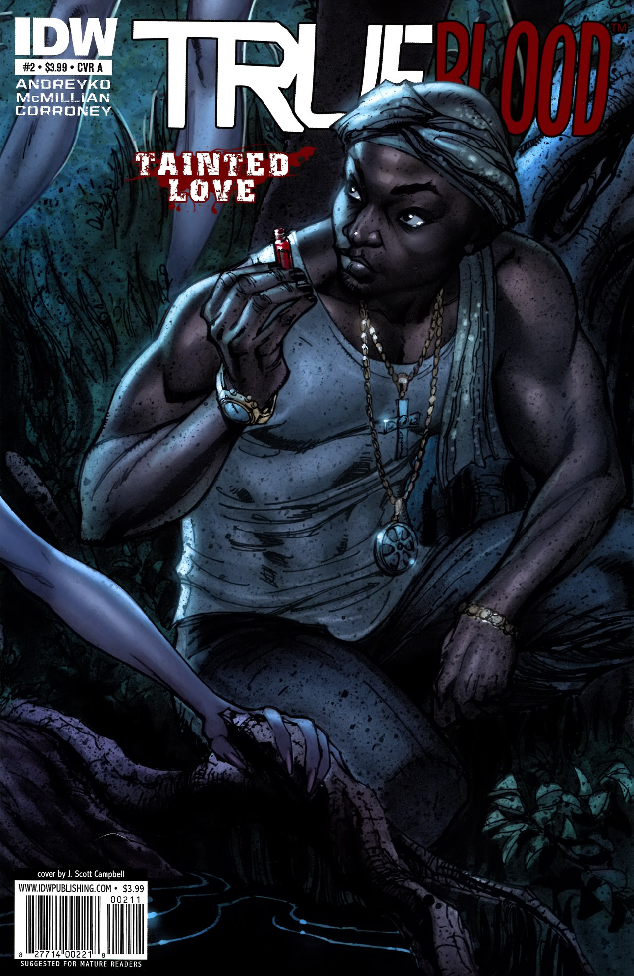 Read online True Blood: Tainted Love comic -  Issue #2 - 1