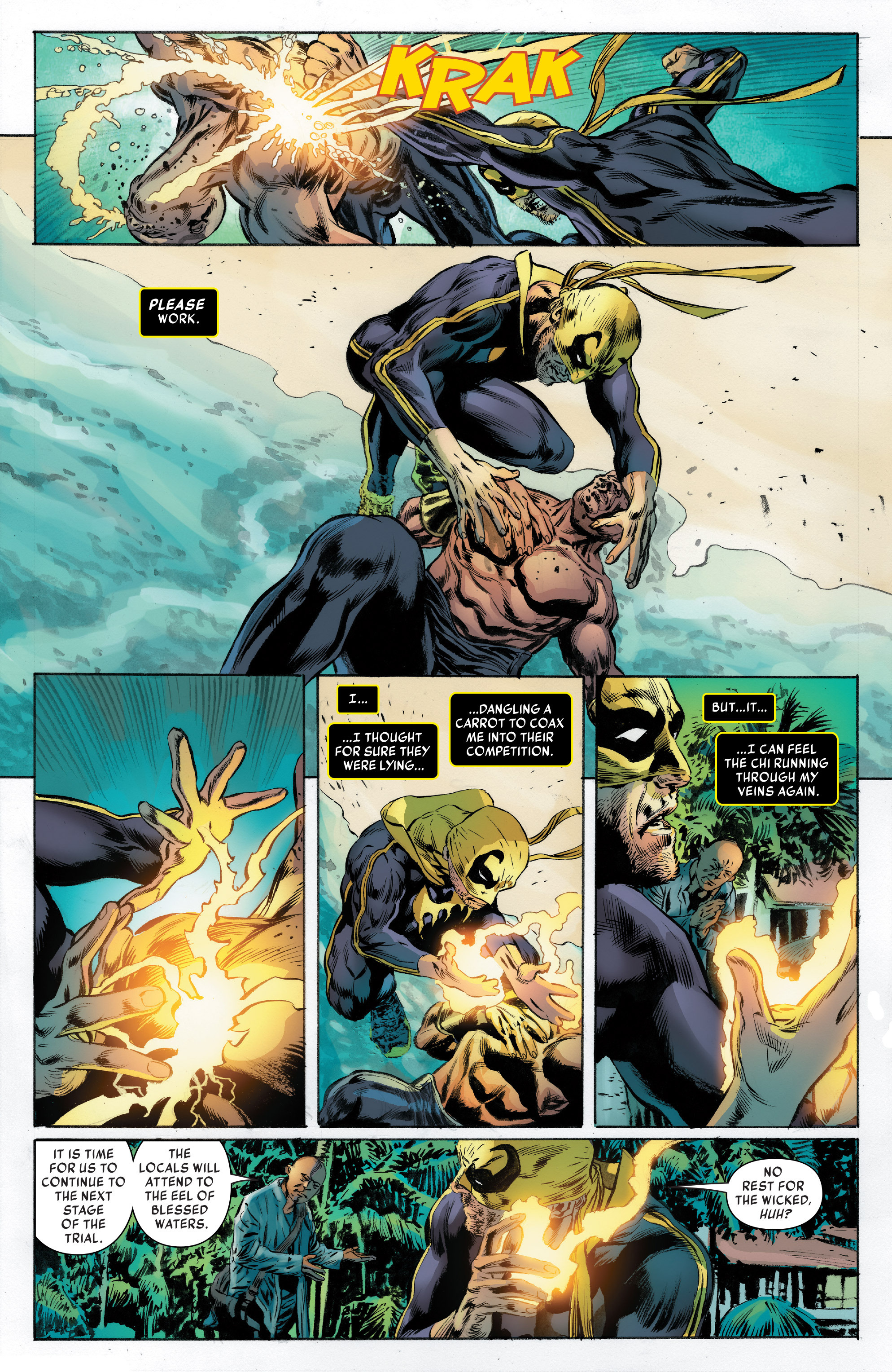 Read online Iron Fist (2017) comic -  Issue #2 - 11