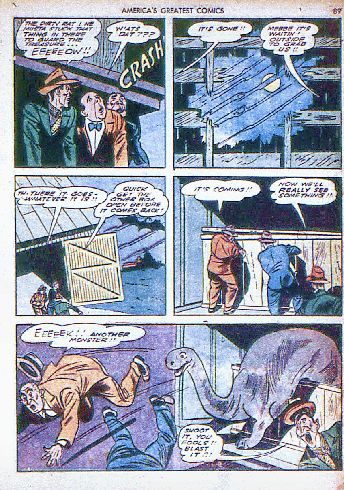Read online America's Greatest Comics comic -  Issue #6 - 90