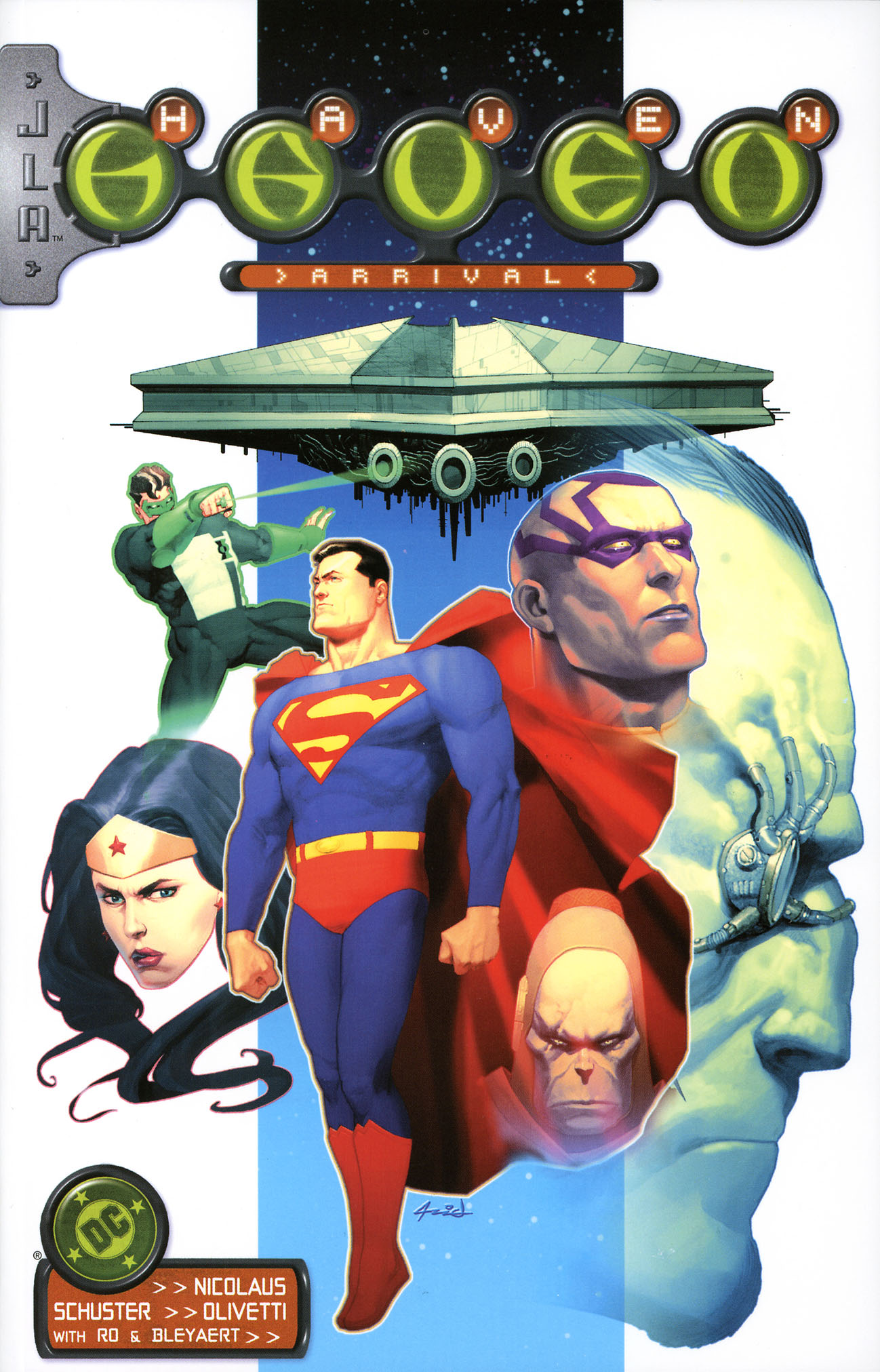 Read online JLA/Haven: Arrival comic -  Issue # Full - 1