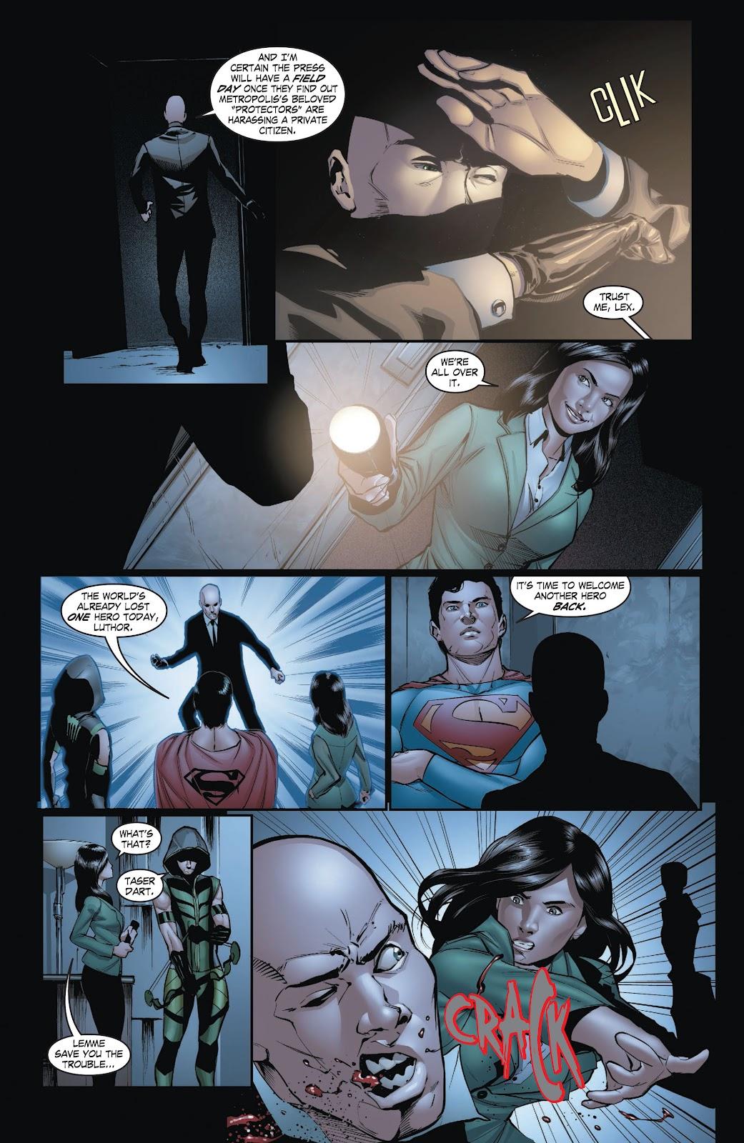 Read online Smallville Season 11 [II] comic -  Issue # TPB 3 - 127
