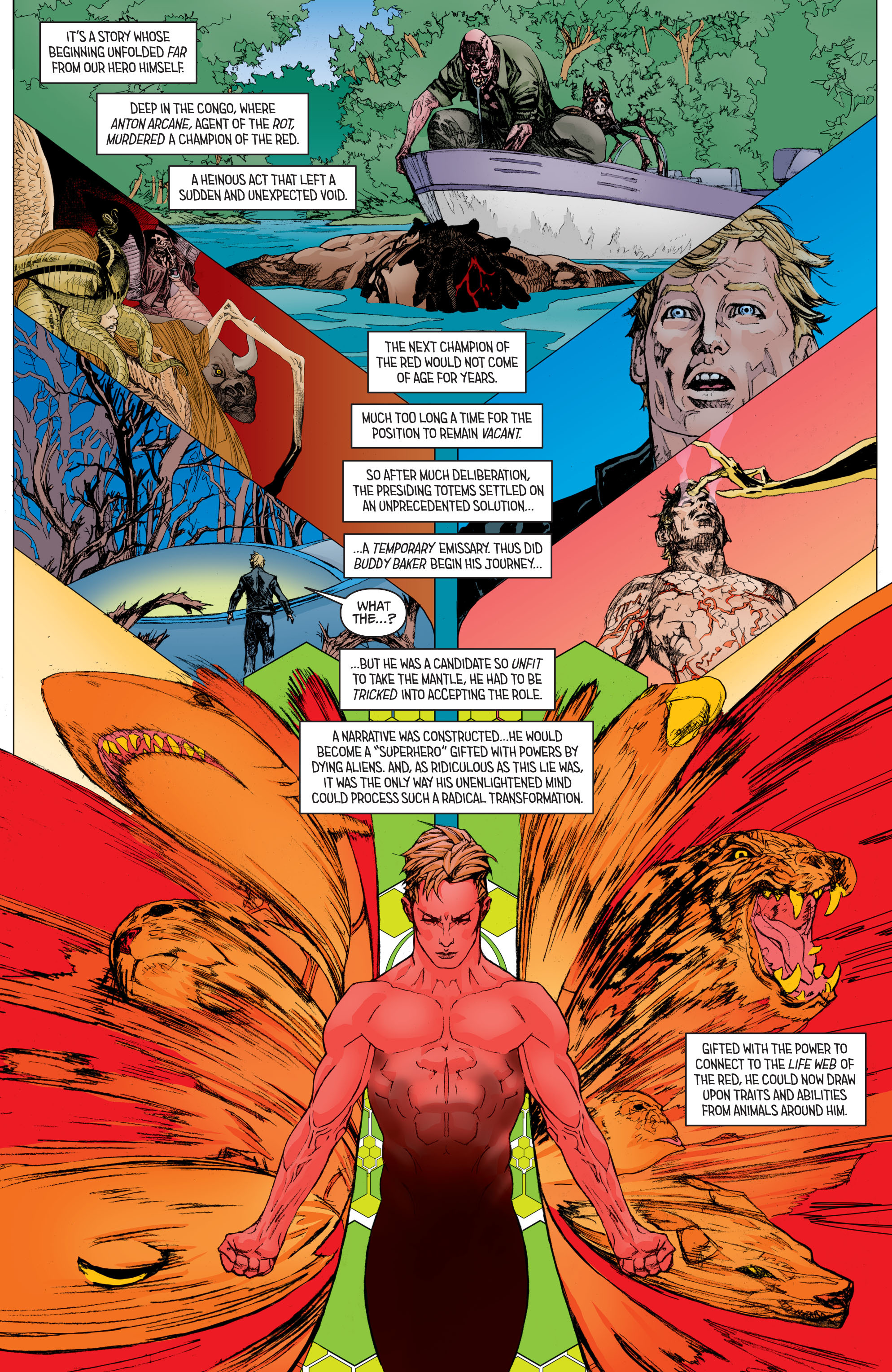 Read online Secret Origins (2014) comic -  Issue #8 - 12