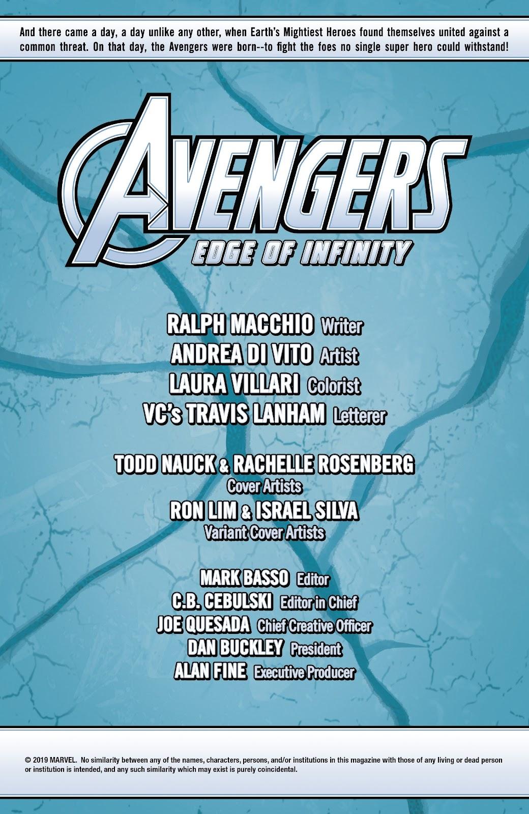 Read online Avengers: Edge of Infinity comic -  Issue # Full - 2
