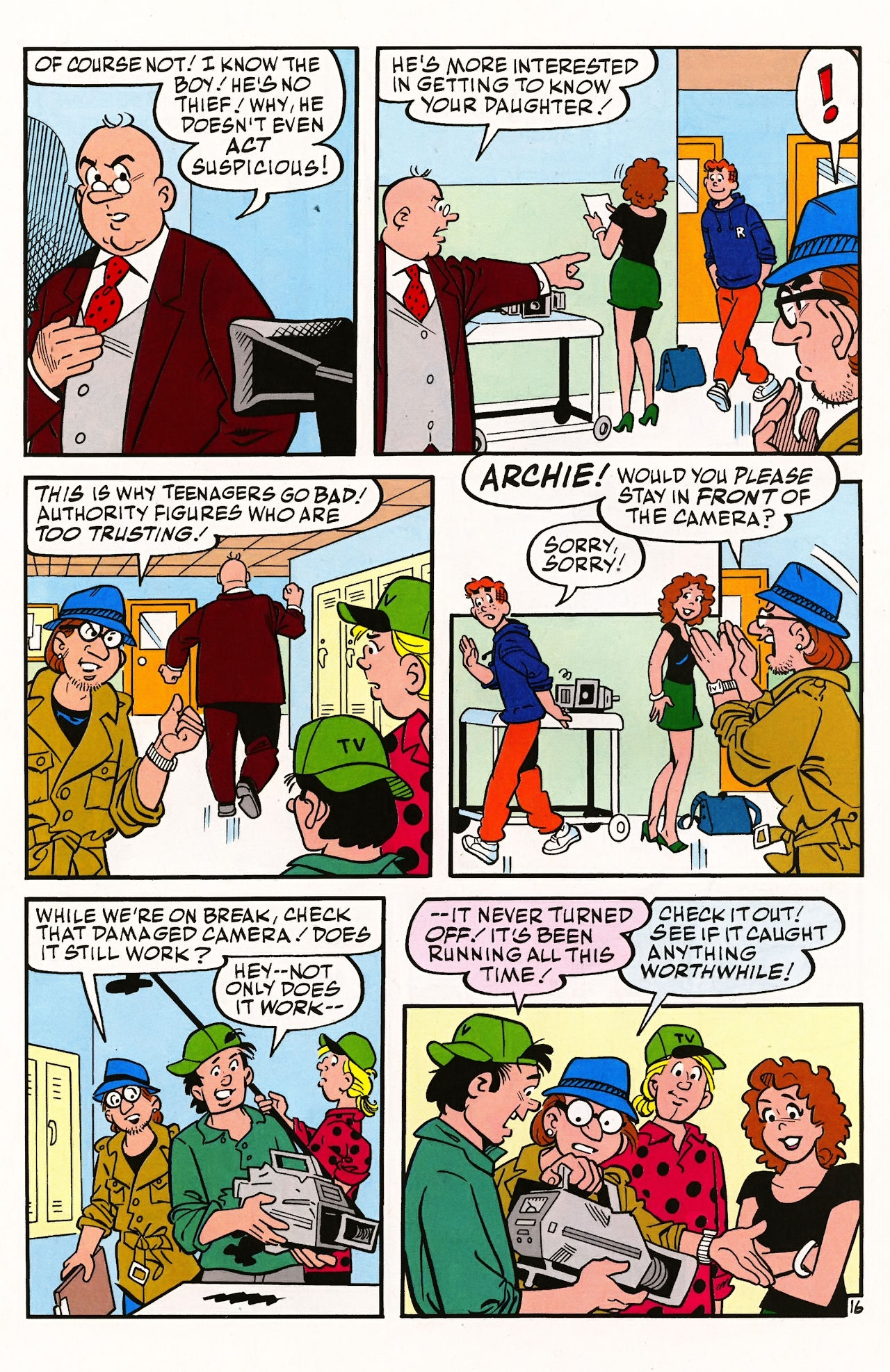 Read online Archie (1960) comic -  Issue #597 - 22