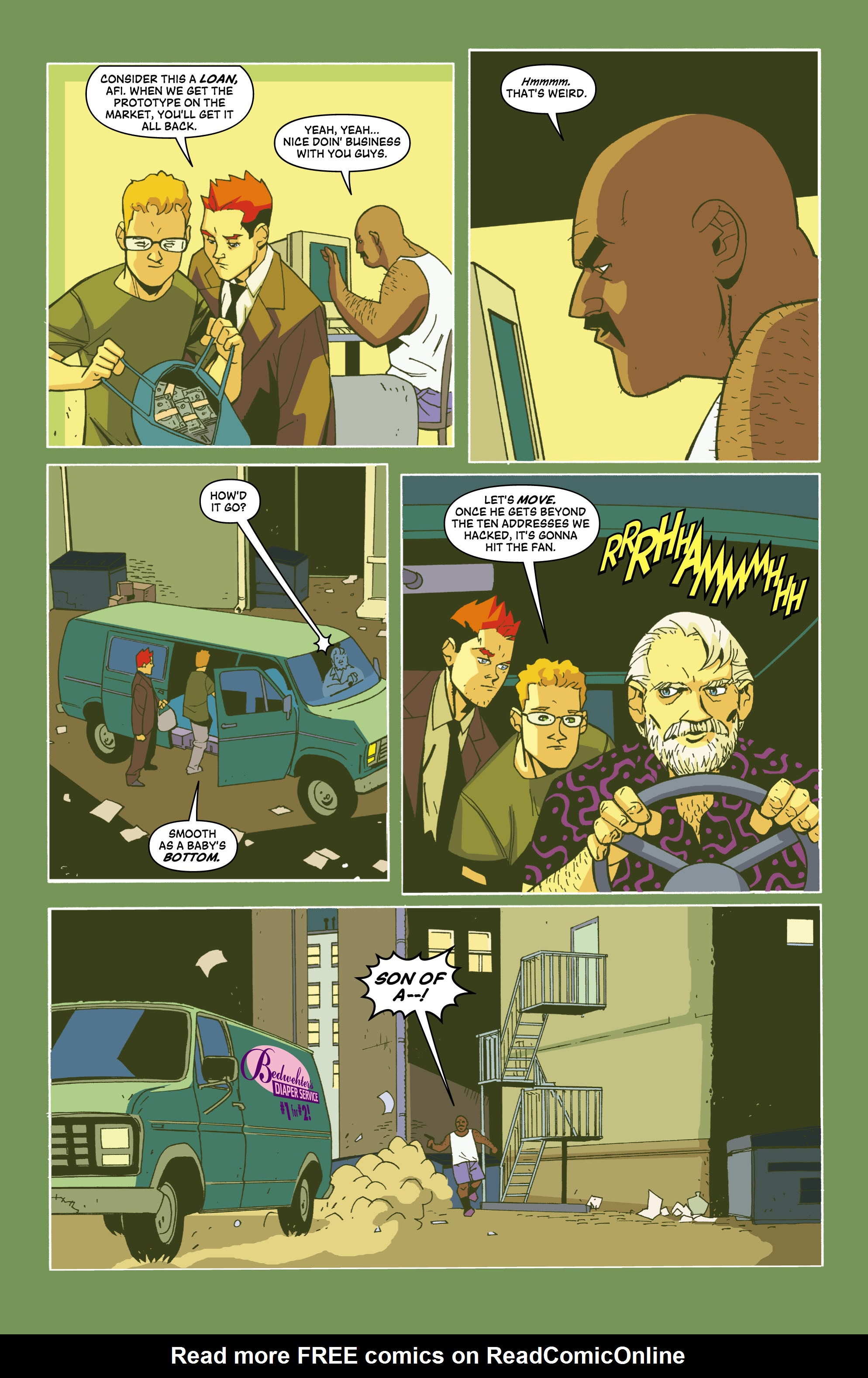 Read online Red Herring comic -  Issue #3 - 12