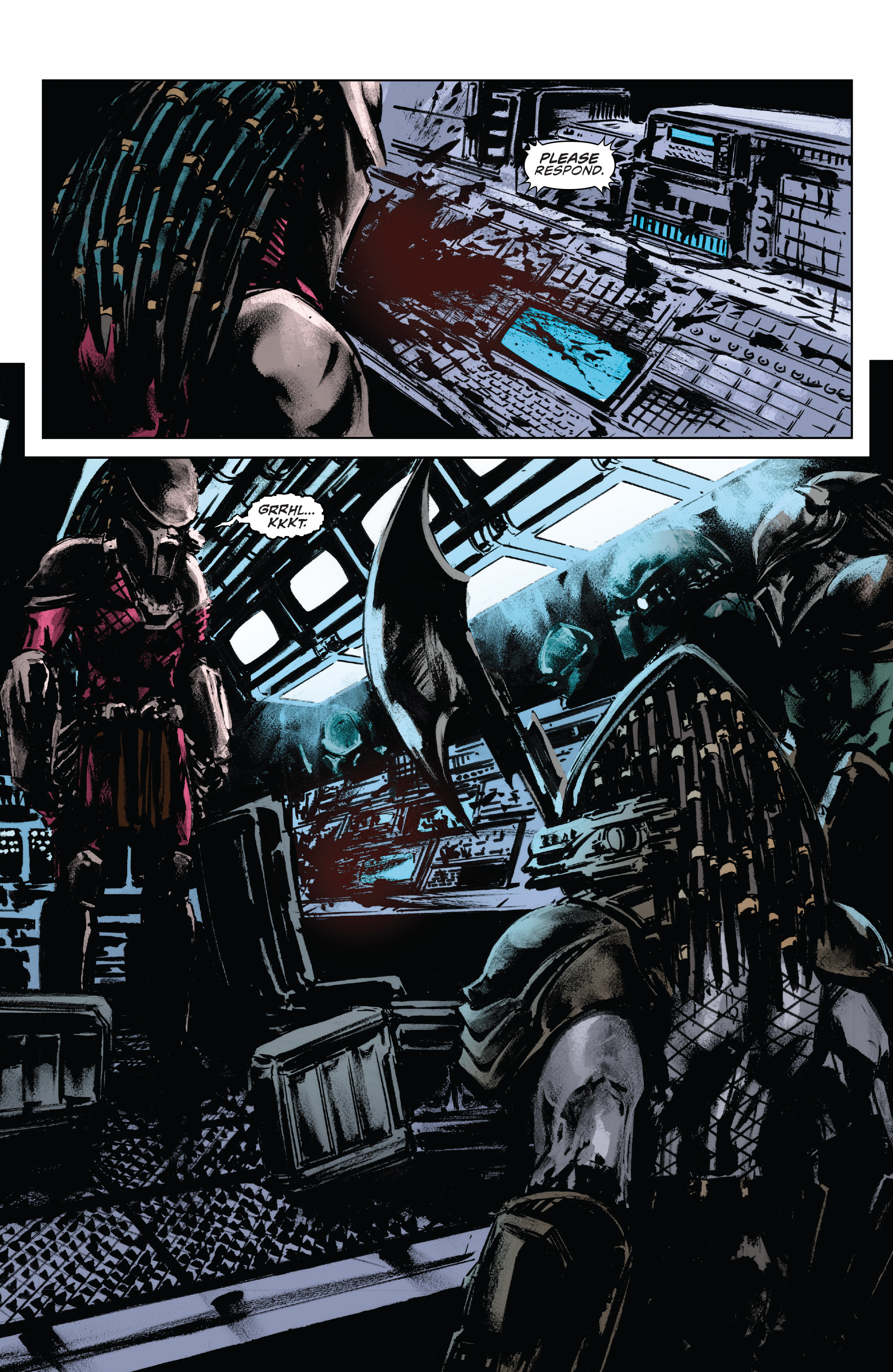 Read online Alien Vs. Predator: Life and Death comic -  Issue #1 - 11