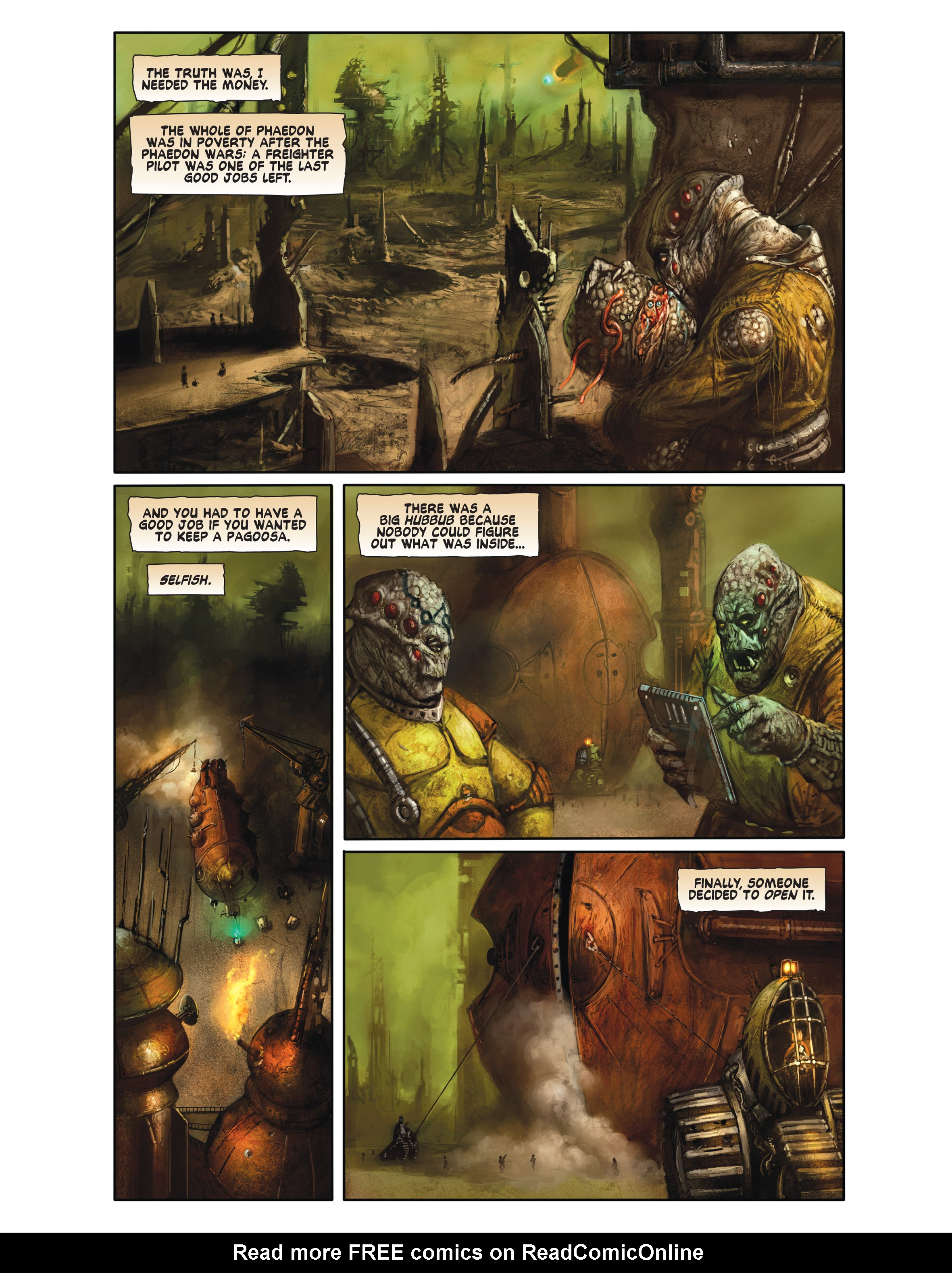Read online Bad Planet comic -  Issue # TPB - 100