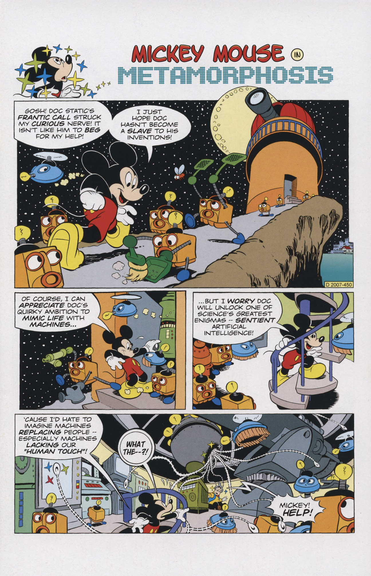 Read online Mickey Mouse (2011) comic -  Issue #308 - 3