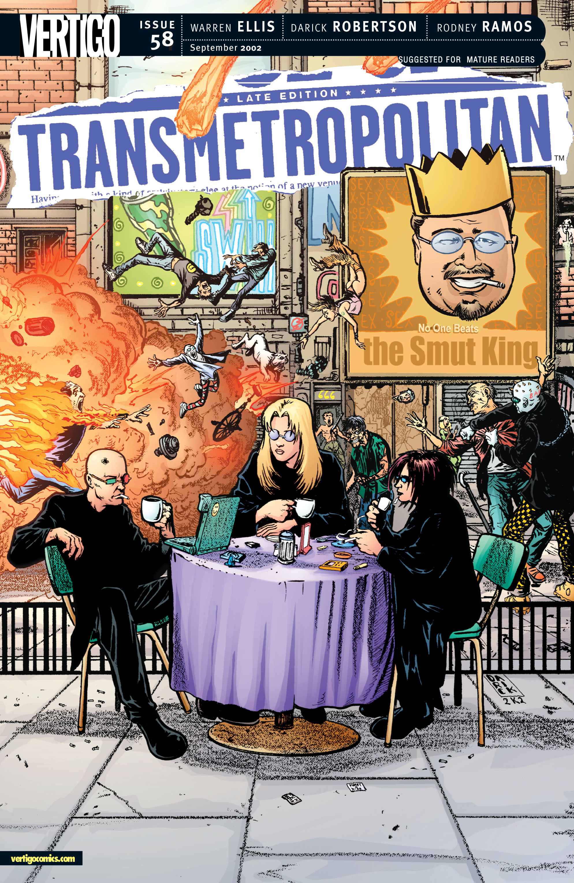 Read online Transmetropolitan comic -  Issue #58 - 1