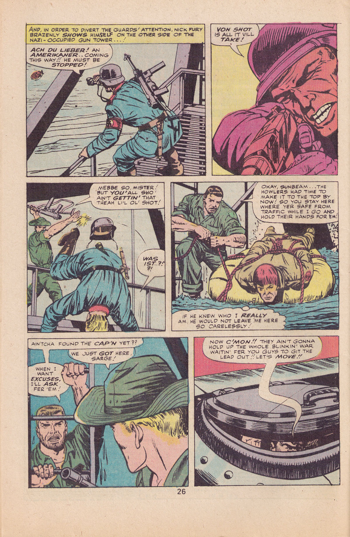 Read online Sgt. Fury comic -  Issue #127 - 28