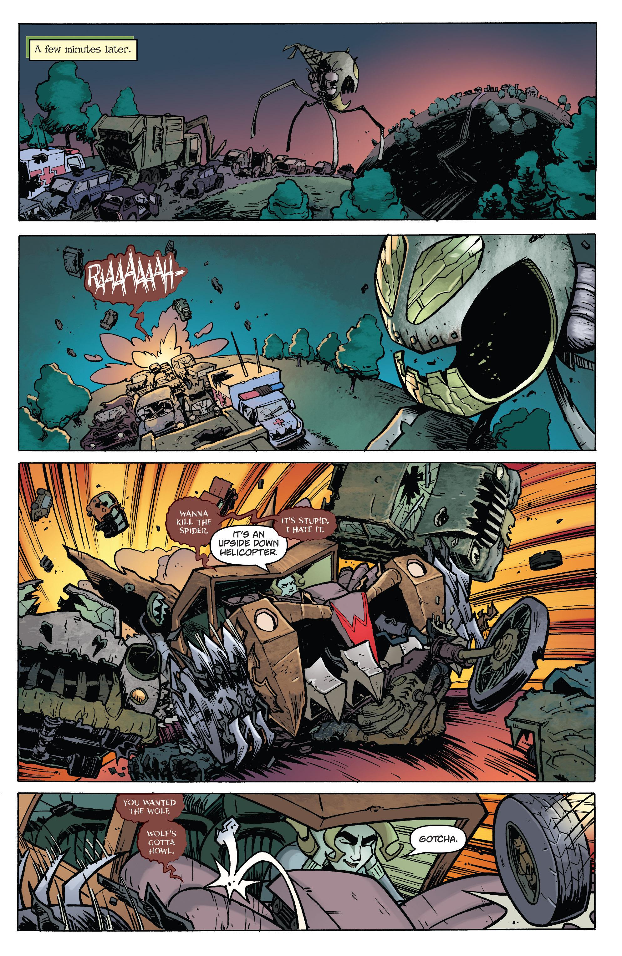 Read online Monster Motors: The Curse of Minivan Helsing comic -  Issue #2 - 16