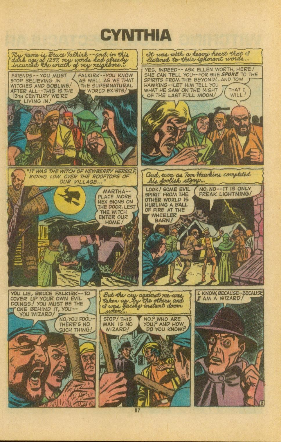 The Witching Hour (1969) issue 38 - Page 89