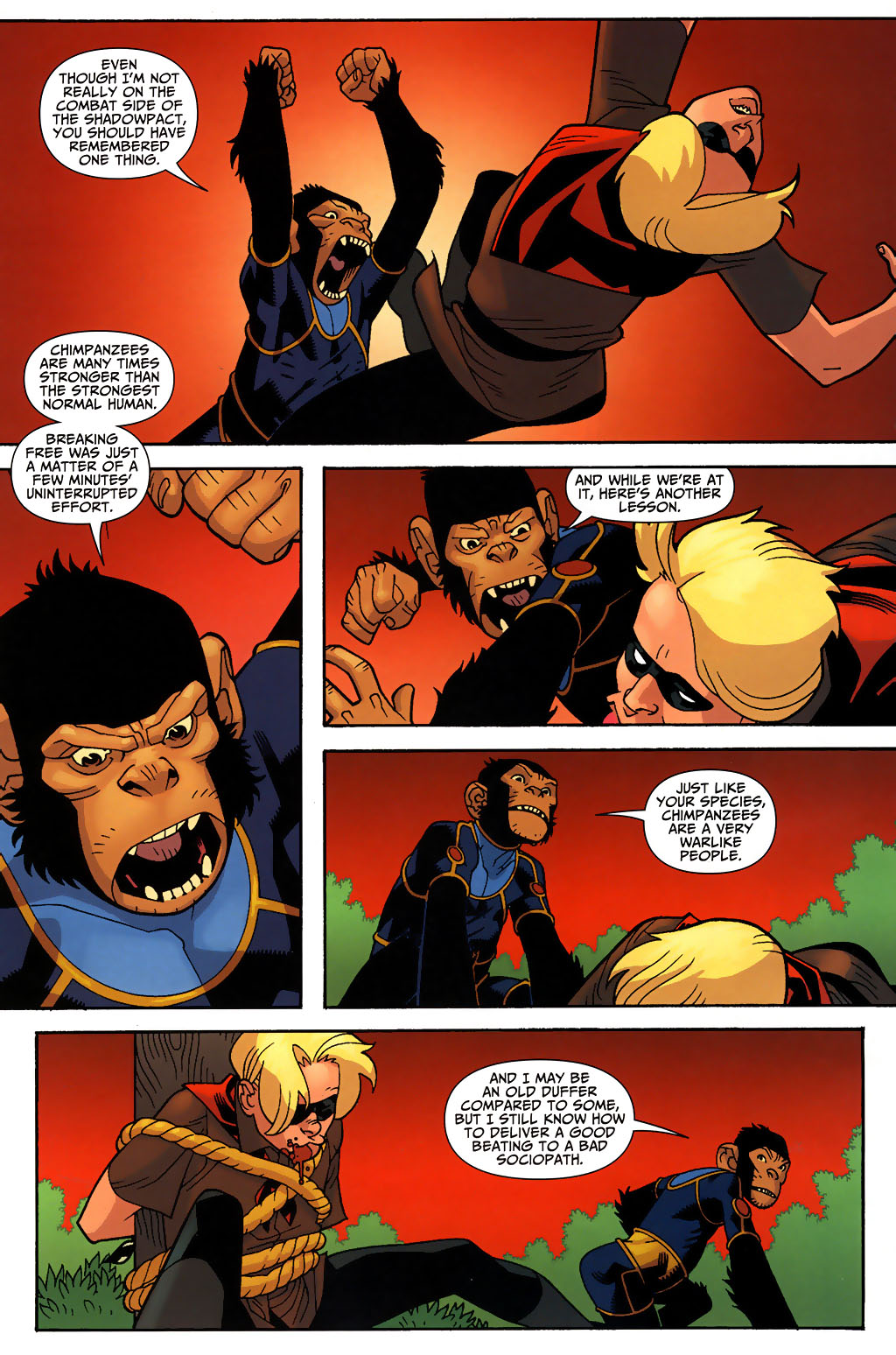 Read online Shadowpact comic -  Issue #3 - 10