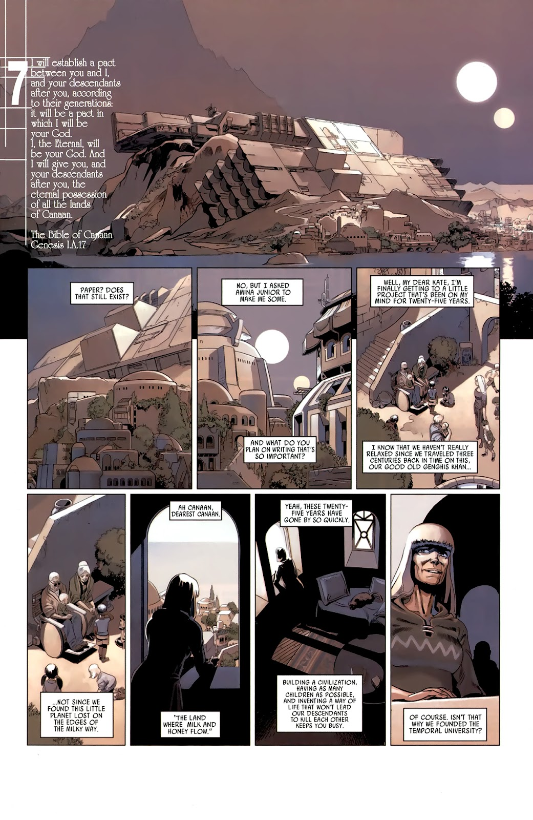 Read online Universal War One: Revelations comic -  Issue #3 - 49