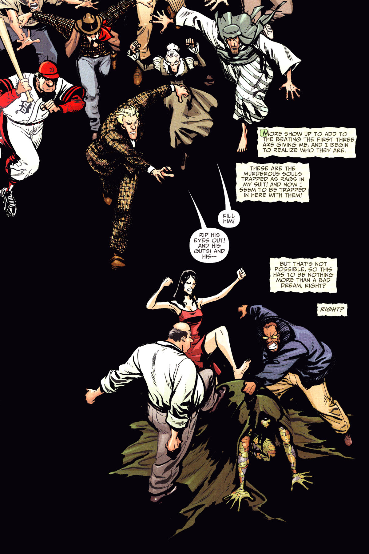 Read online Shadowpact comic -  Issue #8 - 11