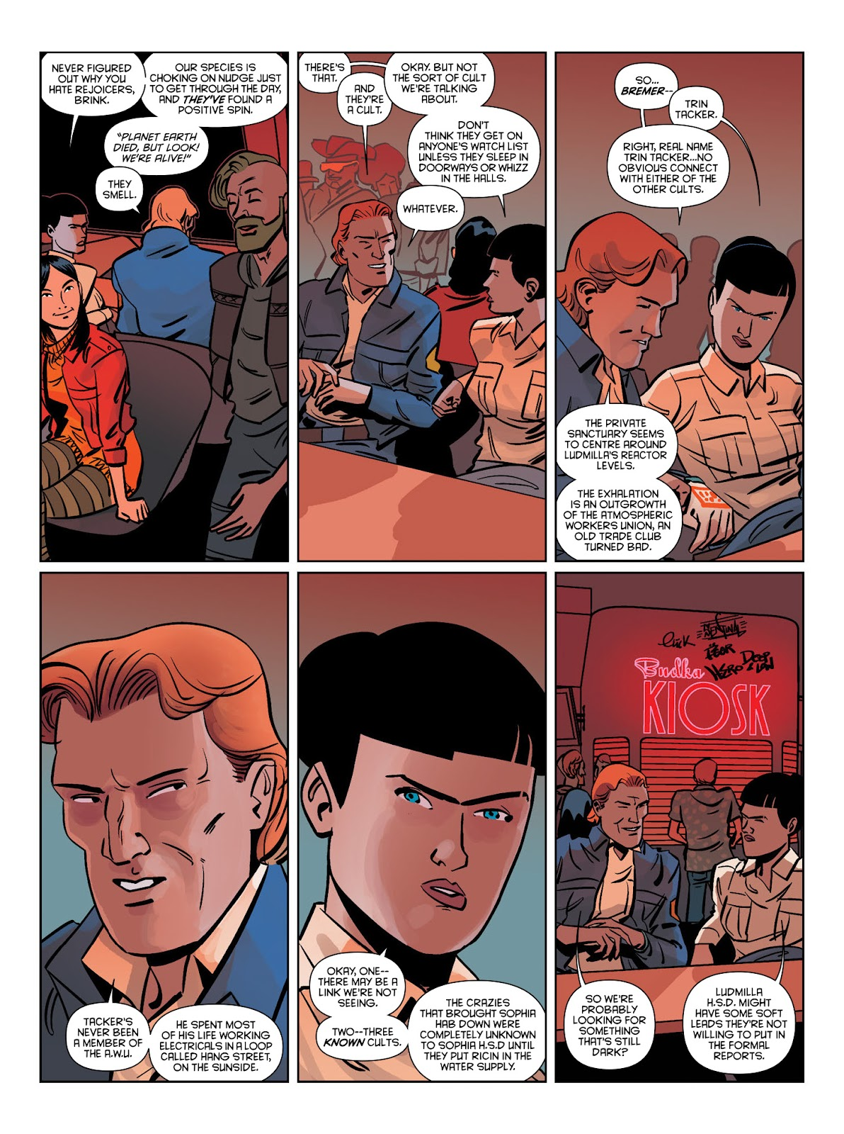 Read online Brink comic -  Issue # TPB 1 - 17