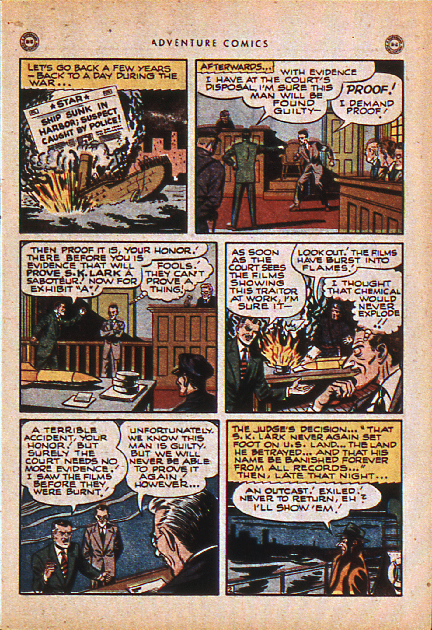 Read online Adventure Comics (1938) comic -  Issue #114 - 14