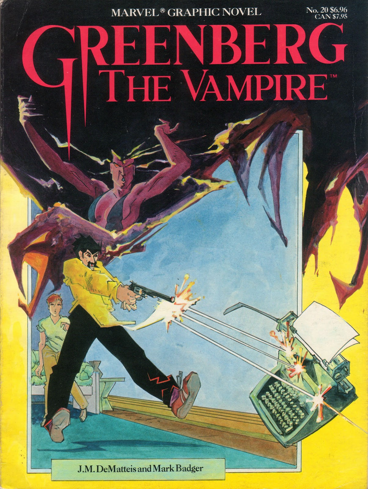 Marvel Graphic Novel 20_-_Greenberg_the_Vampire Page 1