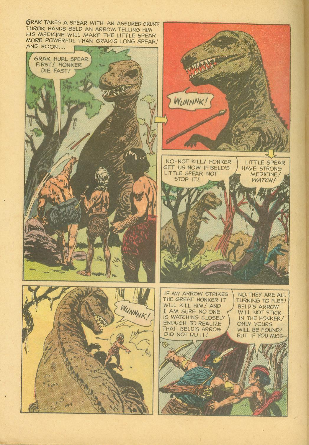 Read online Turok, Son of Stone comic -  Issue #28 - 32