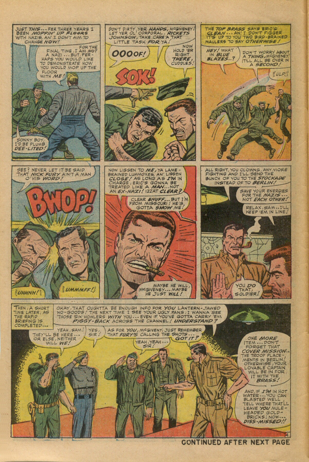 Read online Sgt. Fury comic -  Issue #35 - 6