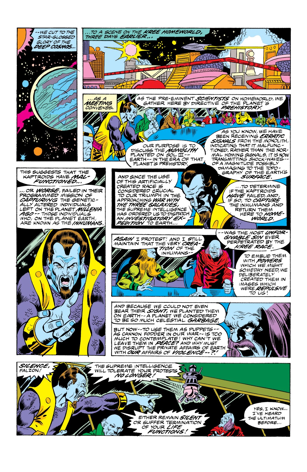 Read online Marvel Masterworks: The Inhumans comic -  Issue # TPB 2 (Part 1) - 54