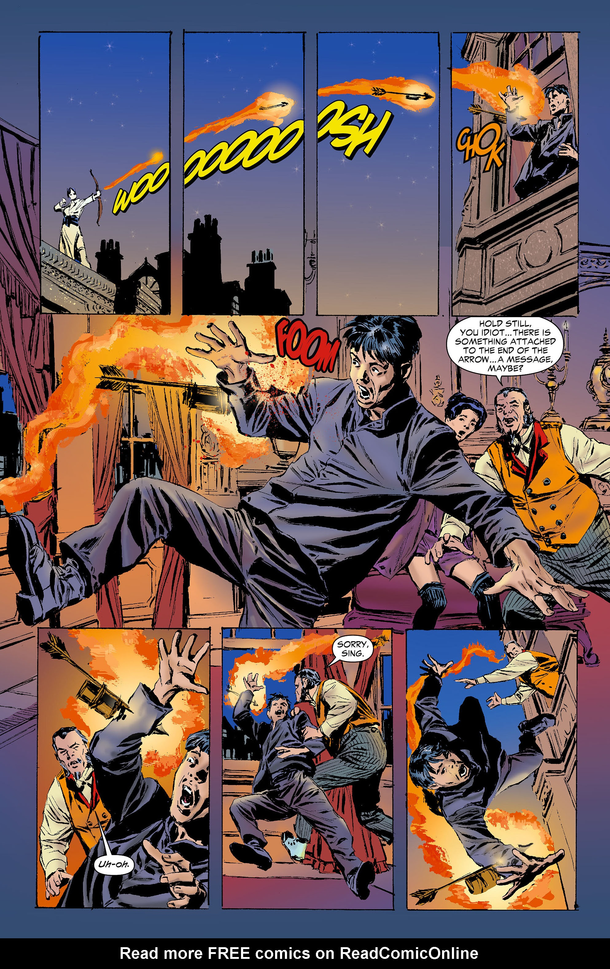 Read online All-Star Western (2011) comic -  Issue #6 - 24