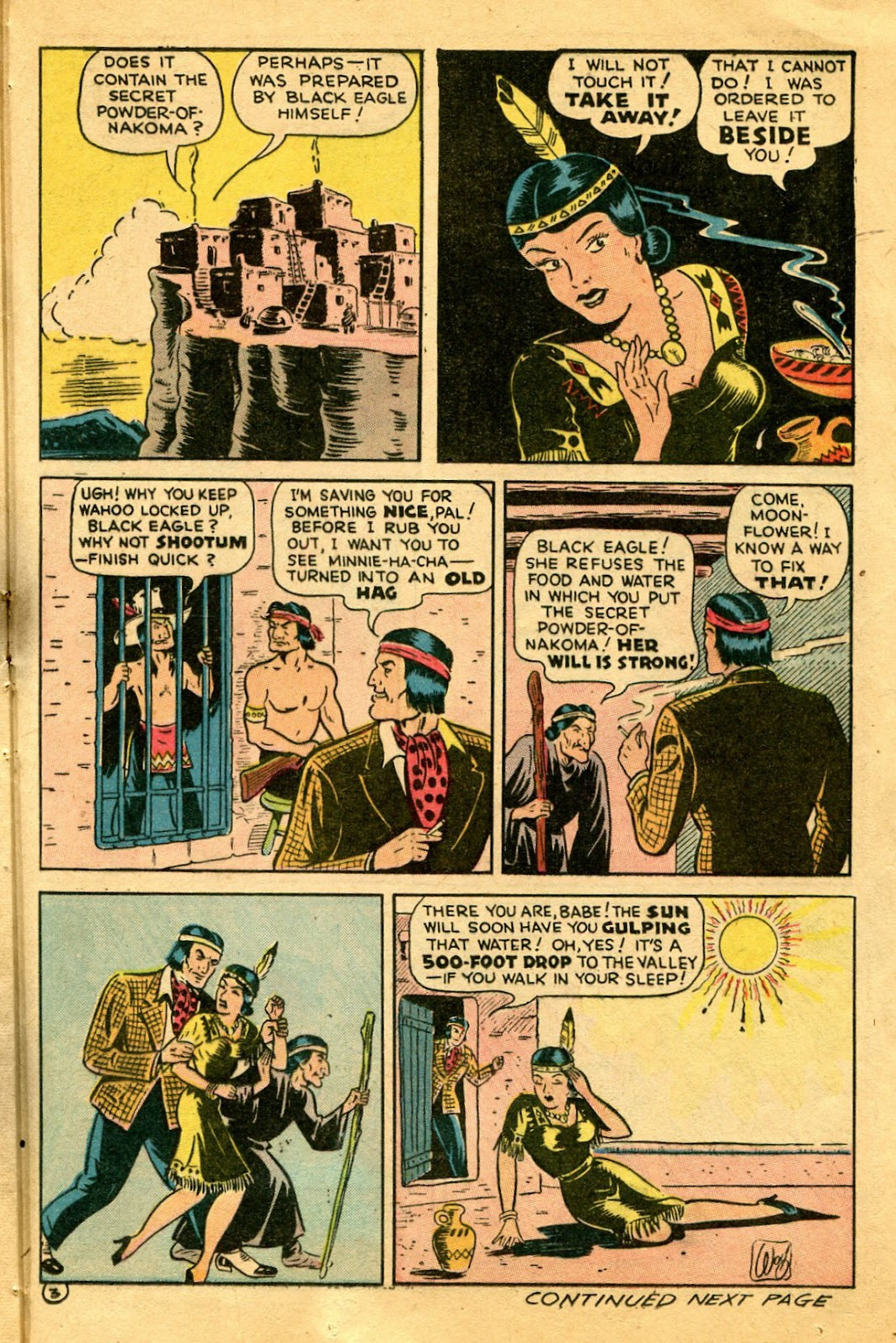 Read online Famous Funnies comic -  Issue #122 - 37