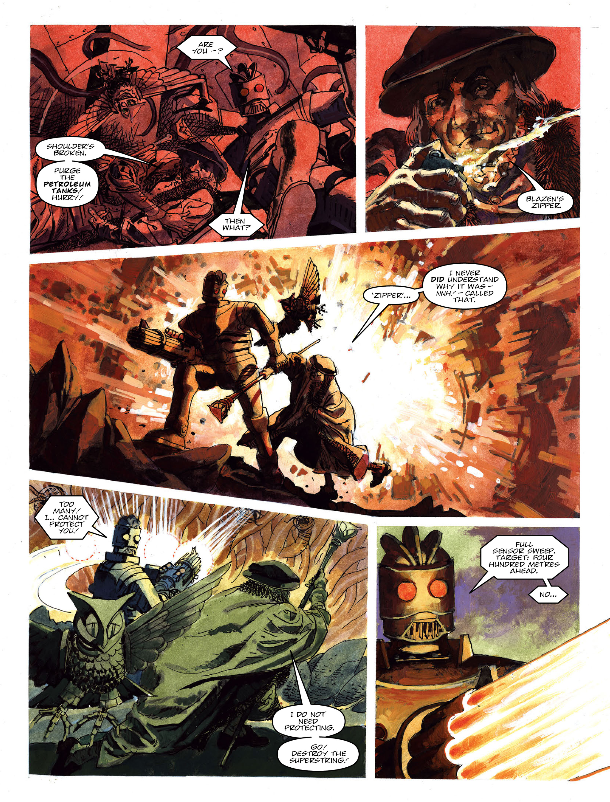 Read online 2000 AD comic -  Issue #2021 - 23