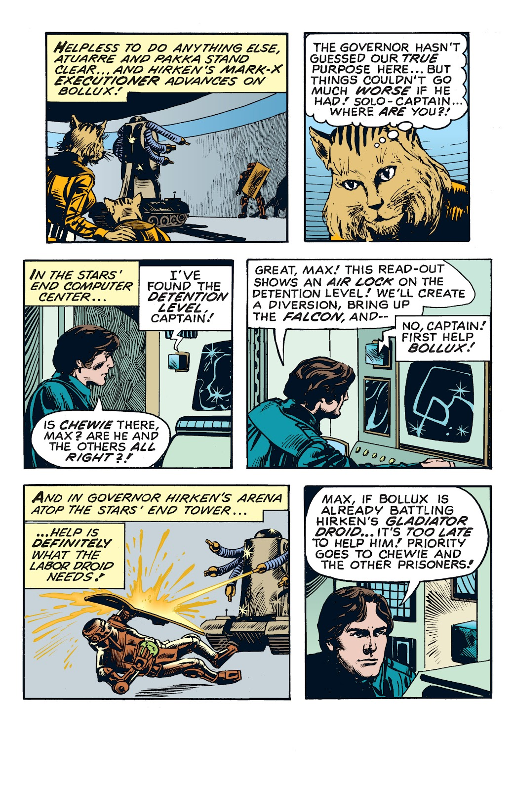 Read online Star Wars Legends: The Newspaper Strips - Epic Collection comic -  Issue # TPB (Part 4) - 59