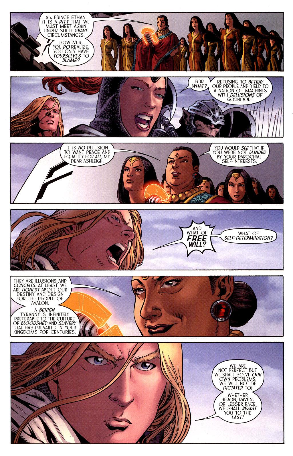Read online Scion comic -  Issue #41 - 5